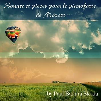 Sonate et pieces pour le pianoforte de Mozart