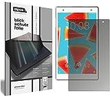 dipos I Blickschutzfolie matt kompatibel mit Lenovo Tab4 8 Plus TB-8704F Sichtschutz-Folie Bildschirm-Schutzfolie Privacy-Filter
