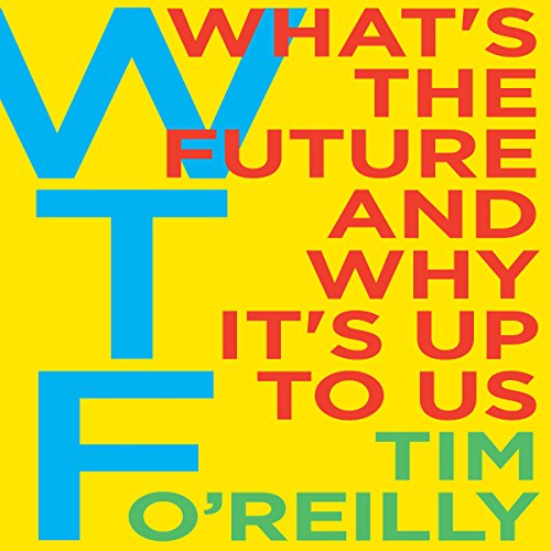 WTF? audiobook cover art