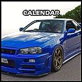 Nissan Skyline R34 Calendar 2022 Planner Journal