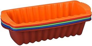 Molde rectangular de silicona de HLHN. Es antiadherente,
