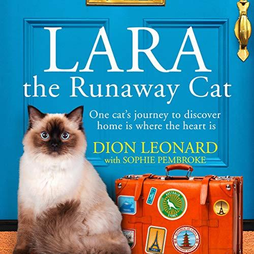 Lara the Runaway Cat audiobook cover art