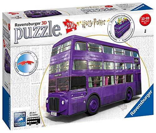 Ravensburger - Puzzle 3D - Véhicule - Magicobus / Harry Potter - 11158
