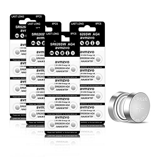 SR626SW Uhren-batterie 32 Stück 377 AG4 Batterien SR 626SW V377 1.5V LR626 Knopfzellen【3 Jahre LagerGarantie】