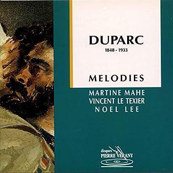 Duparc : Mélodies