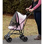 Pet Gear Travel Lite Pet Stroller for Cats and Dogs up to 15-pounds, Pink 11