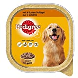 Pedigree Hundefutter 3 Sorten Geflügel, 10 Schalen (10 x 300 g) - 2