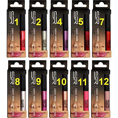 Sabrina Rudnik Cosmetics Lippenglanz Lippenstift Lipgloss Lipstick Beauty Lip Gloss 10 Farben...