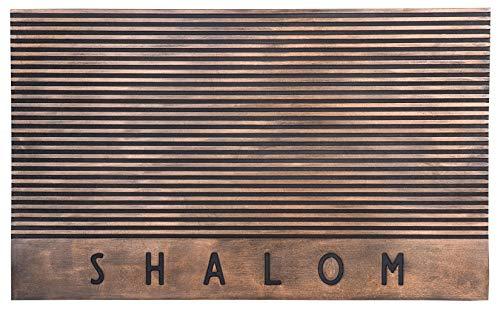 Jewish Holidays Judaica Hanukkah Gifts Etc, Shalom Funny Door Mats Welcome Mat Front Door Mats 30' x 18'