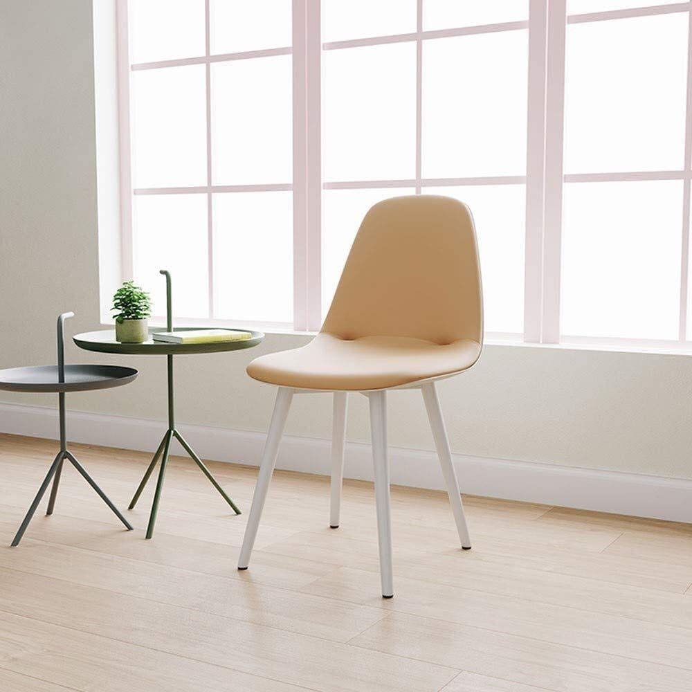 HLR Chaise Salle à Manger Salle à Manger Chaise Dossier Table Moderne à Manger Minimaliste et des chaises Chaise (Color : B) A