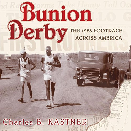 Bunion Derby audiobook cover art