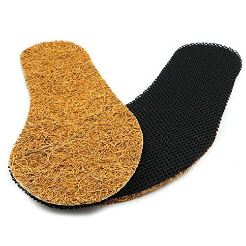 BEZLIT Kokos Textil Einlege Sohlen Schuh Einlagen Größe 36-49 E12 Größe 37