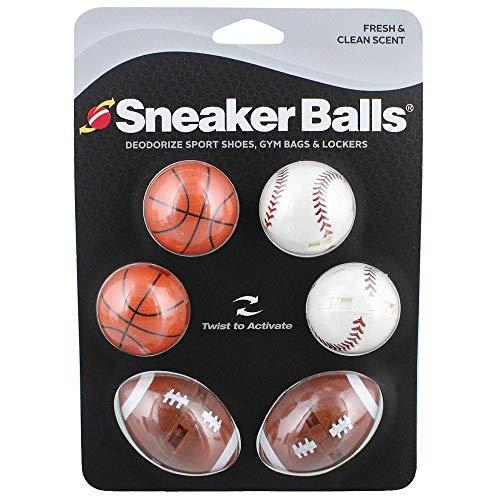Sof Sole - Lot de 3 paires de boules désodorisantes pour chaussures de sport, sac de sport et casier