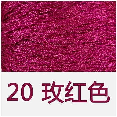 Cushy ZL64 Lot de 10 Fils d'été 100% Soie de Soie 100% Soie de Soie 100% Soie synthétique pour l'été 400 g