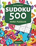 Fun Puzzlers Sudoku 500: Hard Puzzles (Volume 1) (Fun Puzzlers Sudoku Books for Adults)