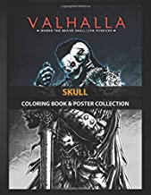 Coloring Book & Poster Collection: Skull Warrior Skull Illustrated With Fantasy Classic Style In Cartoons