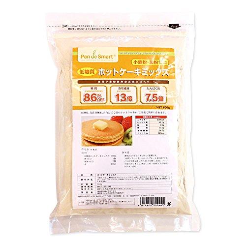 ミックス粉 パンdeスマート 低糖質ホットケーキミックス 鳥越製粉 600g