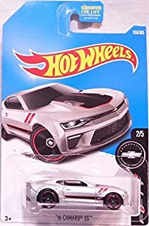 Hot Wheels 2017 Camaro Fifty '16 Camaro SS 155/365, Silver