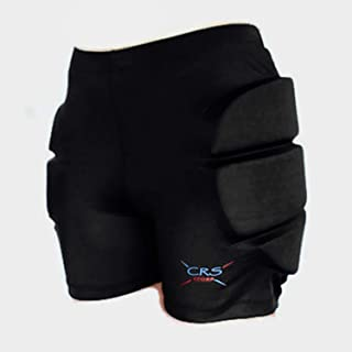 CRS Cross Padded Figure Skating Shorts – Ladies Crash Butt Pads for Hips Tailbone & Butt (9 Pads)