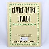 longo, raccolta di 18 pezzi, clavicembalisti italiani