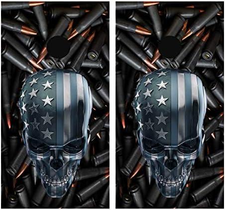 Skulls vinyl wrap