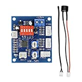 Diymore DC12V 5A PWM 4 Wires PC Fan Temperature Manumotive Speed Controller Module CPU High-Temperature Alarm with Buzzer and Probe for Arduino Heat Sink