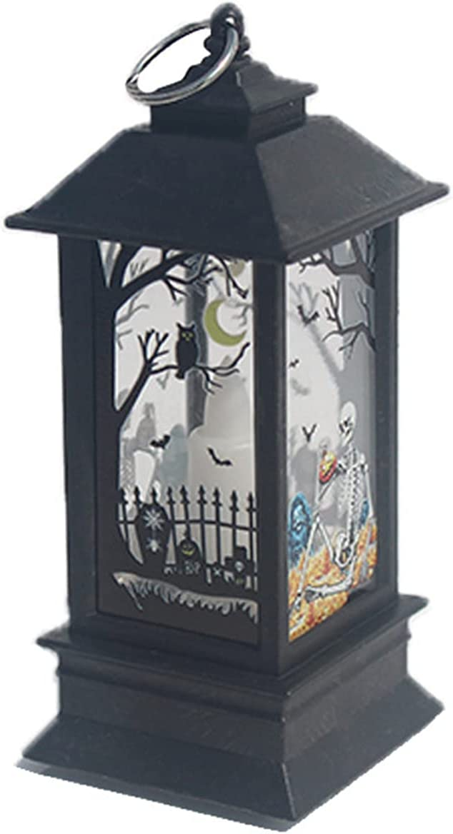 KinAndKen Halloween Candle Lamp 25% OFF Ranking TOP14 battery Built-in Glowing button