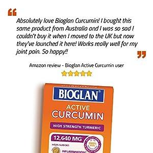 Bioglan Active Curcumin, High Strength Turmeric extract, 1 month supply - 30 Tablets