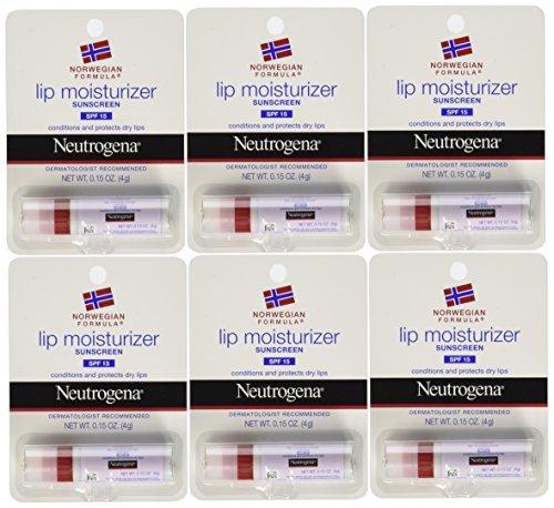 Neutrogena Norwegian Formula Lip Moisturizer With Sunscreen, Spf 15 0.15 oz