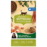 Rachael Ray Nutrish Premium Natural Dry Cat Food, Real Chicken & Brown Rice Recipe, 3 Pounds