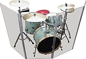 Drum Shield DS4 5 Panels 2foot X 5foot with Flexible Hinges