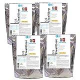 ProVista Original Eiweissbrot - SIS Backmischung 4 x 400g für Proteinbrot Low er Carb mit nur 4,9% KH und 28,6% Protein