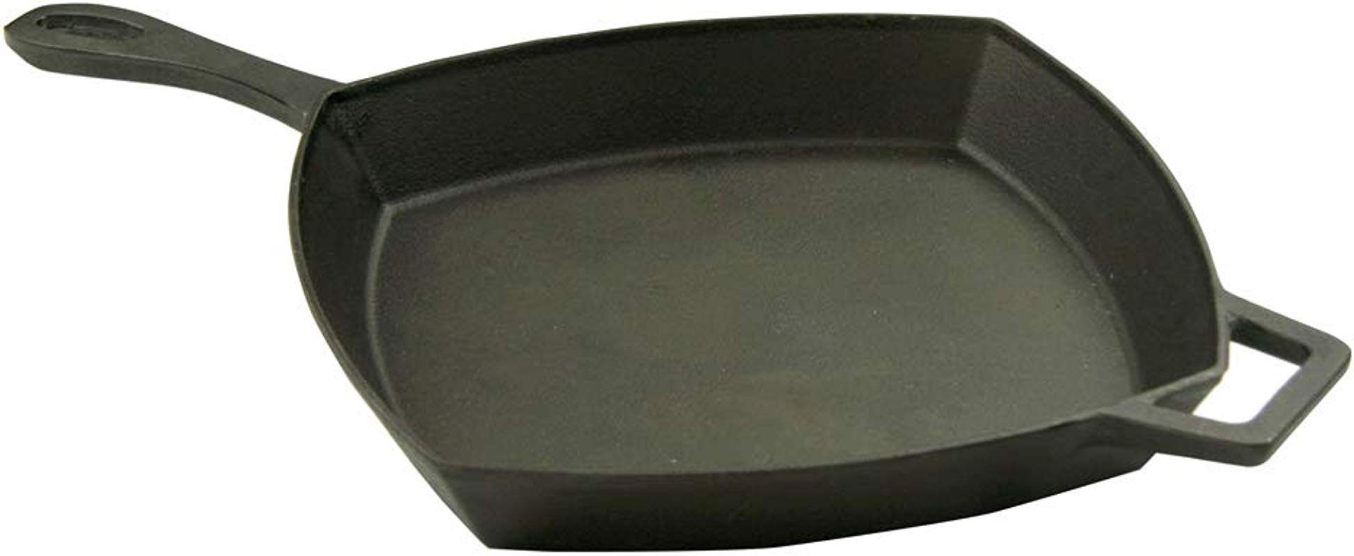 Bayou Classic 7433 7433 12 In Square Skillet 12 Black Cast Iron