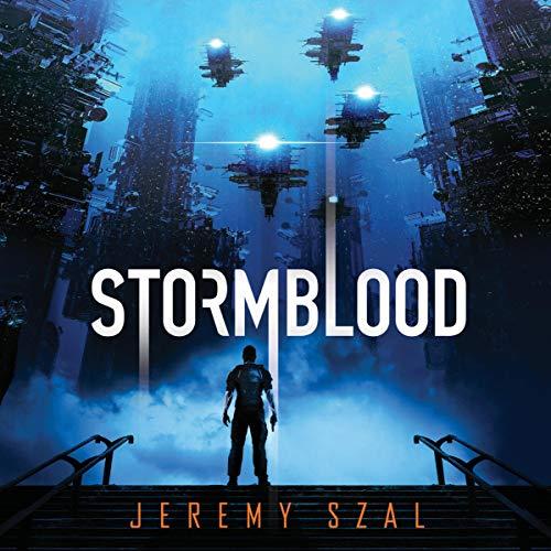 Stormblood audiobook cover art