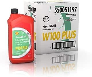 AeroShell Oil W100 Plus - 550050837-6x1 quart case