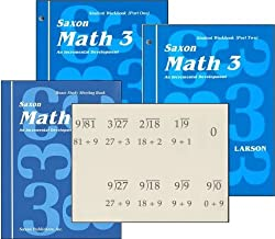 Saxon Math 3rd Grade Student Workbooks and Meeting Book
