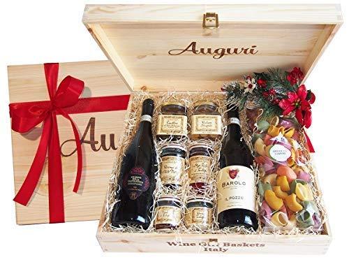 Confezione Regalo Auguri Italian Food- Idea Regalo Eccellenze Enogastronomiche Italiane - cod 99