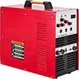 Mophorn TIG200 200A AC DC Aluminum Tig Stick Welder TIG Welder 200Amp AC DC Tig MMA Stick Welder AC DC Dual Voltage 110V 220V Inverter TIG Welding Machine Portable Combo Welder 85% Efficiency