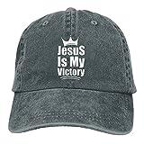 Jopath Jesus is My Victory - Gorra de béisbol unisex para hombre y mujer