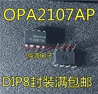 1pcs / lot OPA2107AP OPA2107A OPA2107 0PA2107AP DIP-8在庫あり