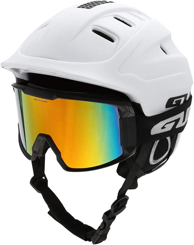 Dilwe Erwachsene Erwachsene Erwachsene Skihelm, leicht Snowboardhelm Weiß Schwarz Orange Blau 59-61cm   23.2-24in B07K7LTSHP  Überlegene Qualität 1485fc