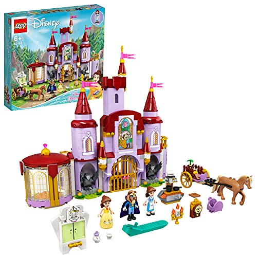 LEGO Disney Princess Belle and the Beast's Castle - 43196
