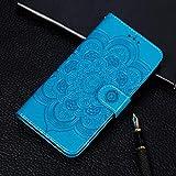 Dmtrab Phone Case for Huawei Y9 Prime (2019) / P Étui de portefeuille Smart Z, motif de gaufrage...