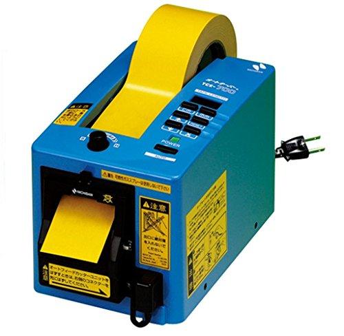 ニチバン 電動テープカッター オートテーパー TCE-700 ブルー