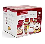 Best Tupperware Sets - Rubbermaid Easy Find Lids Food Storage Containers, Racer Review