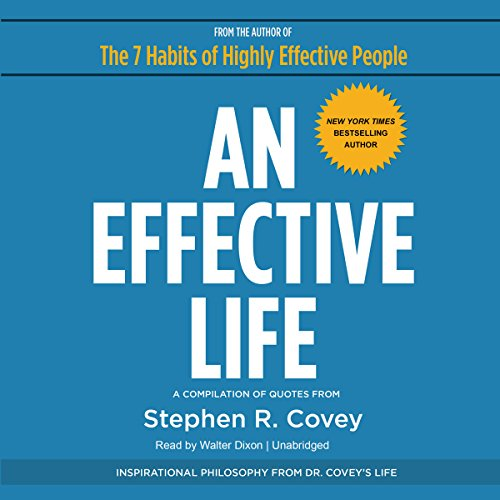 An Effective Life audiobook cover art