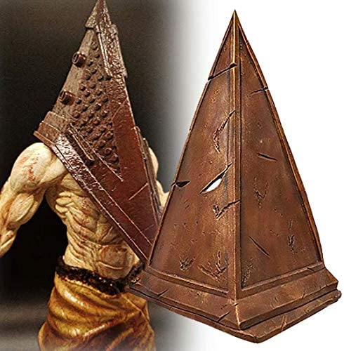 Daylight Hill Pyramid Head Mask Full Face Latex Mask Cosplay Props Brown product image