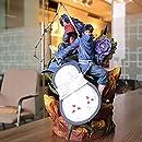 SFRIDQ NARUTO-ナルト-アニメの足枷の土で生まれ変わりうちはマダラ 像の置物モデル人形彫刻おもちゃの装飾高さ40cm