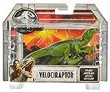 Jurassic World Dinosaurio Velocirraptor de ataque, dinosaurio de juguete (Mattel...