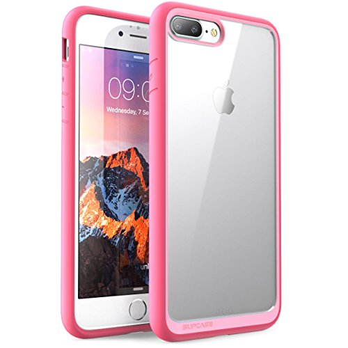 SupCase iPhone 8 Plus Hülle, [Unicorn Beetle Style] Schutzhülle Premium Case Cover Hybrid Transparent Handyhülle (Kompatibel mit iPhone 7...